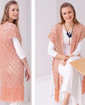 описание вязания жилета для женщин
