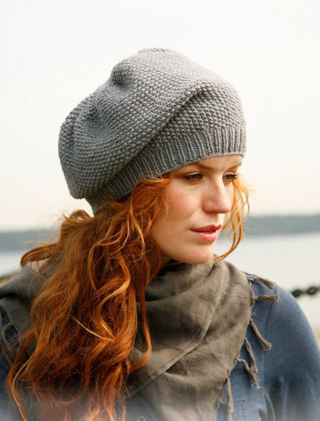 женская шапка спицами с узором рис портал рукоделия и моды