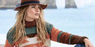 Женский свитер спицами с узором в этно стиле схема вязания с подробным описанием