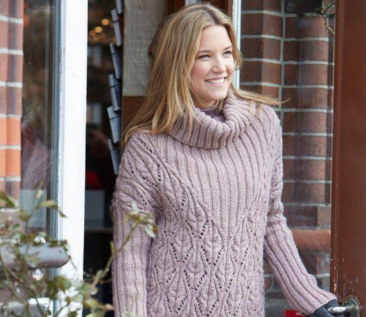 женские свитера спицами схемы