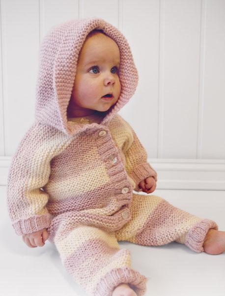 Комбинезон спицами с капюшоном для новорожденного схема вязания с подробным описанием