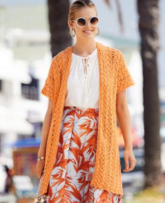 Жилет спицами с плетеным узором схема вязания с подробным описанием для женщин бесплатно