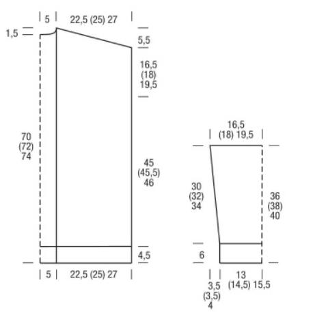 Сетчатый жакет с поясом спицами схема вязания и выкройка с подробным описанием